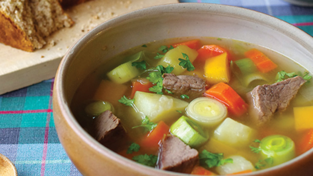 Traditional Welsh Cawl recipe
