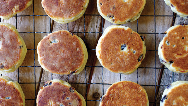 Traditional Welsh cakes recipe