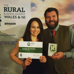 The Forge winning runner up at the Rural Business Awards 2018