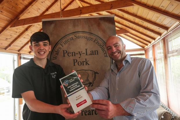 Pen-Y-Lan Pork win prestigious food & drink award