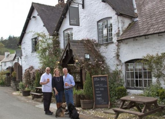 Llanarmon pub named best in Wrexham