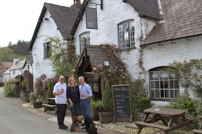 Llanarmon pub named best in Wrexham