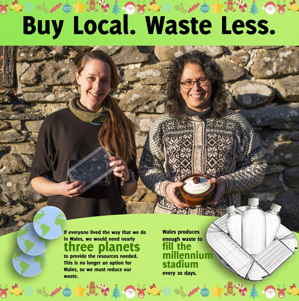 How to reduce waste, support local businesses and have your tastiest ever Christmas!