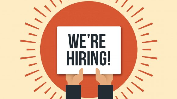 We're hiring! Looking for enthusiastic food-loving admin support